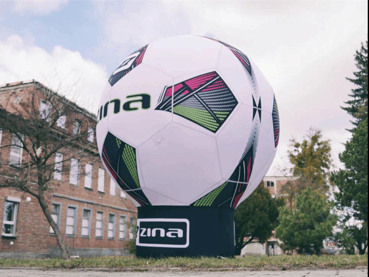 aufblasbarer Fußball